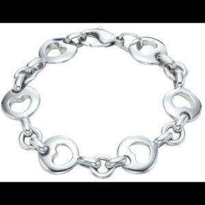 Tiffany & Co Retired Heart Bracelet